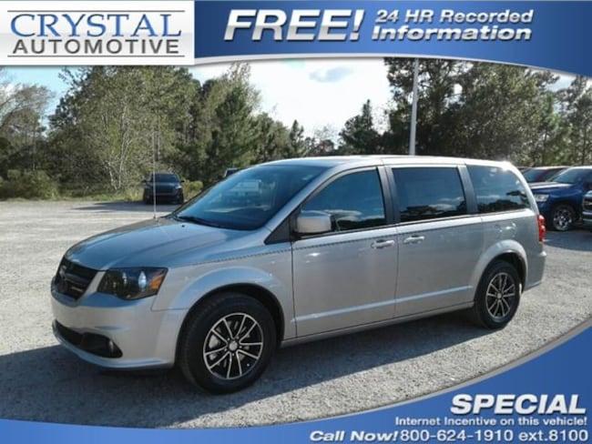 New 2019 Dodge Grand Caravan SXT Passenger Van for sale in Brooksville, FL at Crystal Chrysler Dodge Jeep