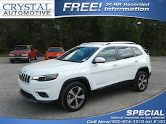 New 2019 Jeep Cherokee LIMITED FWD Sport Utility for sale in Brooksville, FL