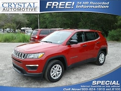 New 2018 Jeep Compass SPORT FWD Sport Utility for sale in Brooksville, FL