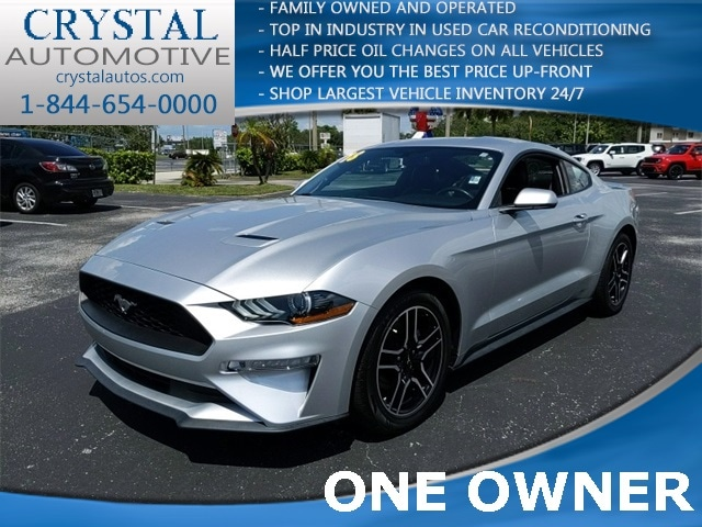 2018 Ford Mustang Ecoboost Coupe For Sale in Brooksville, FL