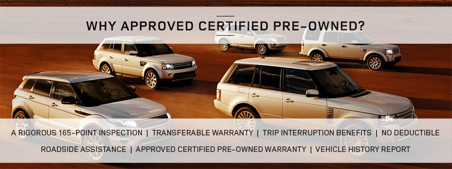 Why Consider Certified Pre Owned Land Rover Land Rover Farmington