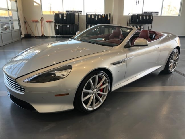 Used 2016 Aston Martin DB9 GT Volante Convertible for Sale in Simsbury, CT