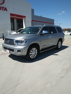 New 2019 Toyota Sequoia Platinum SUV in Pampa, TX