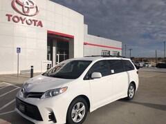 New 2020 Toyota Sienna LE 8 Passenger Van in Pampa, TX