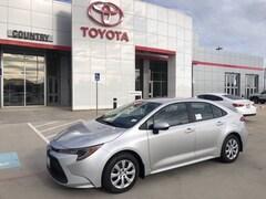 New 2020 Toyota Corolla LE Sedan in Pampa, TX