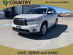 Used 2015 Toyota Highlander Limited V6 SUV in Pampa, TX