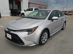 New 2020 Toyota Corolla LE Sedan in Pampa, TX