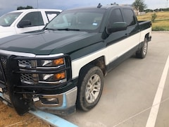 Used 2015 Chevrolet Silverado 1500 LT Truck Crew Cab in Pampa, TX