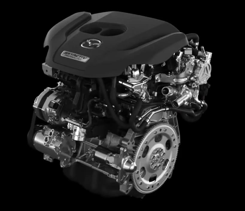 The New 2018 Mazda6 Engine