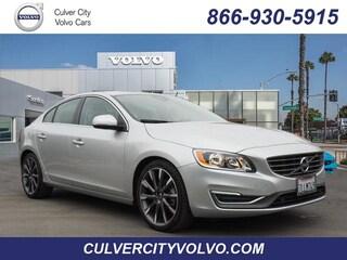 Pre-Owned 2015 Volvo S60 T5 Premier Drive-E (2015.5) Sedan YV126MFK6F1340418 for Sale in Culver City, CA