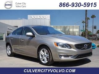 Pre-Owned 2015 Volvo S60 T5 Drive-E Premier Sedan YV140MFB8F1304899 for Sale in Culver City, CA