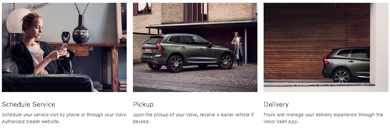 Volvo Valet Service pick up and delivery is convenient and easy at Culver City Volvo Cars
