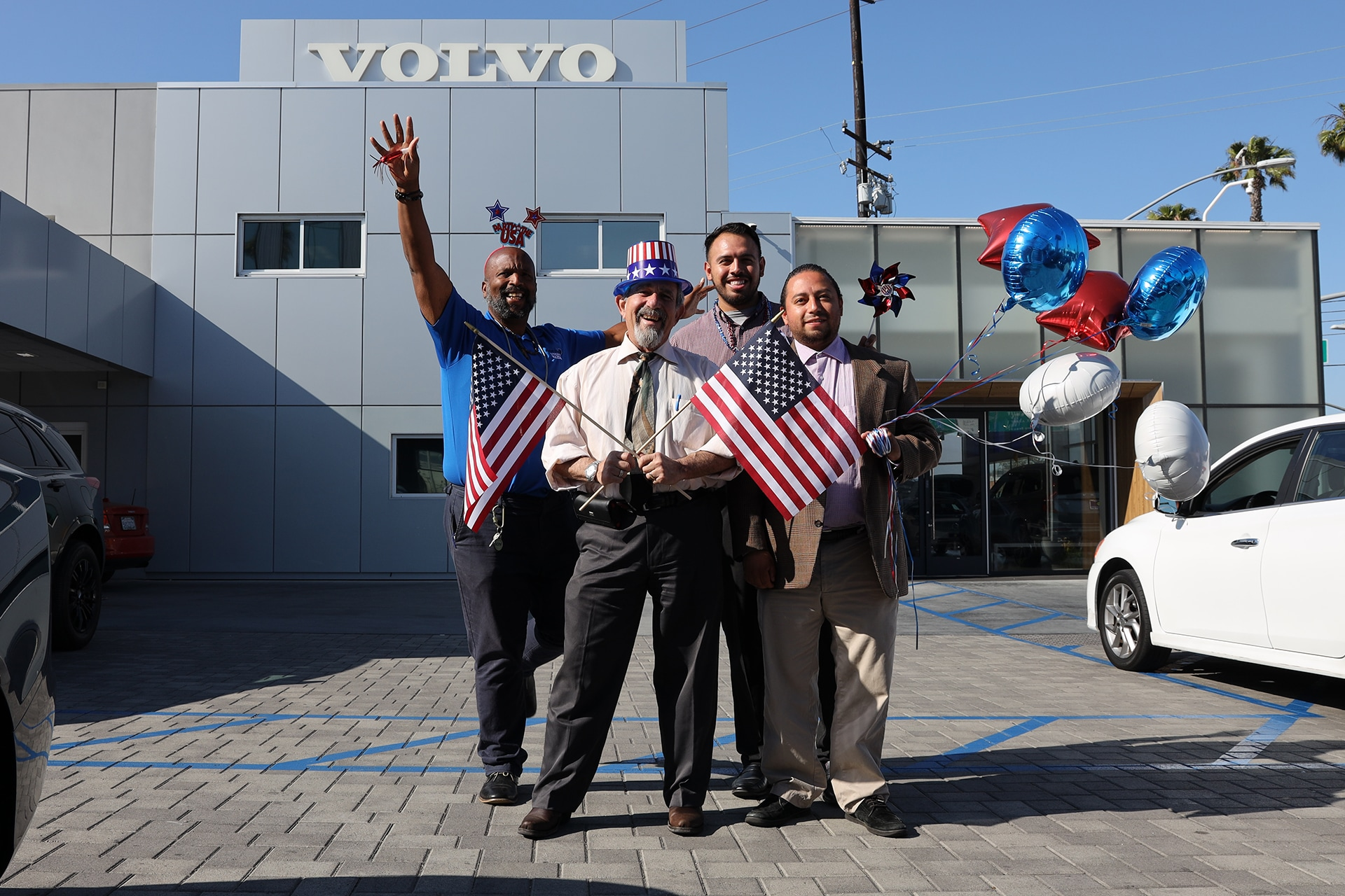 Culver City Volvo Cars has great sales people to help you
