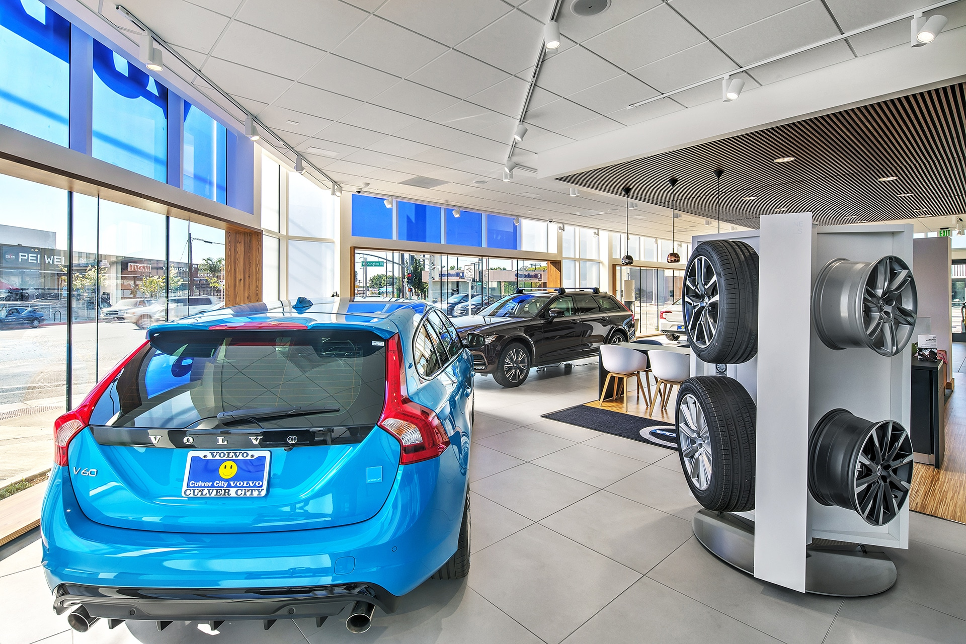 View new cars in our Remodeled showroom at Culver City Volvo Cars