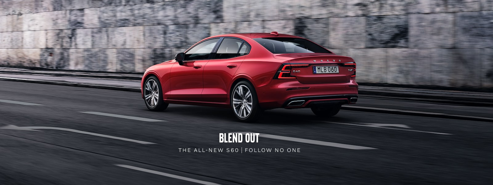 The all-new 2019 Volvo S60. Available at Culver City Volvo Cars