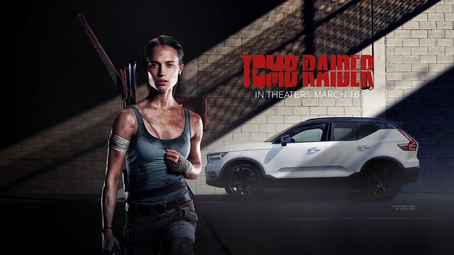 Tomb Raider Volvo Poster