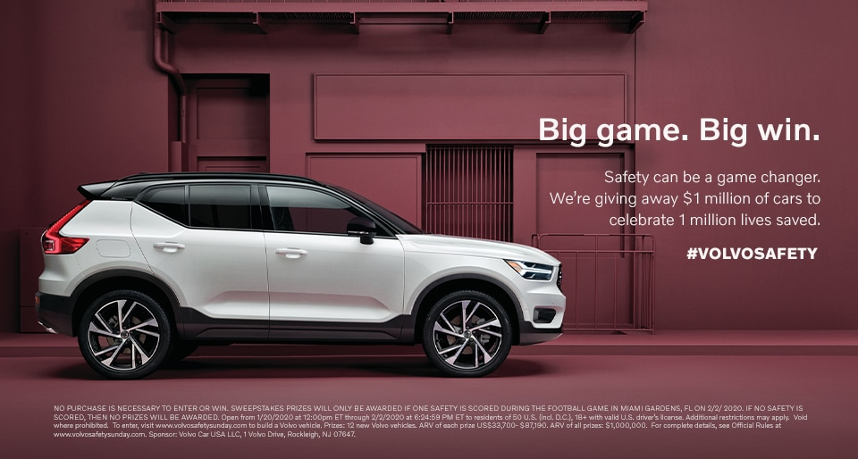 Win a new Volvo with Volvo Safety Sunday - Culver City Volvo