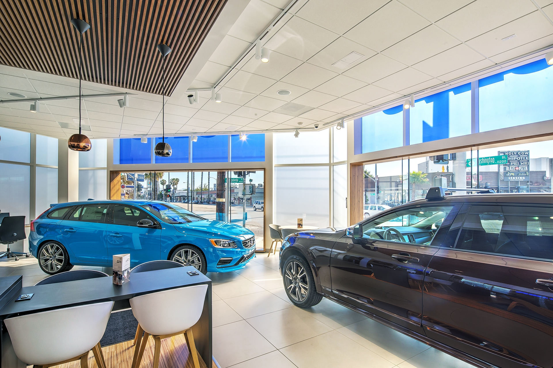 View new cars and wait comfortably with snacks and wifi in our Remodeled showroom at Culver City Volvo Cars