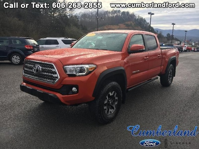 2017 Toyota Tacoma TRD Off Road Crew Cab Long Bed Truck