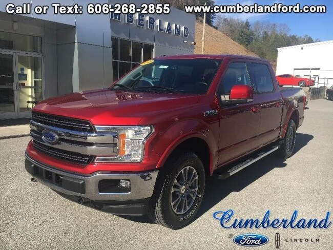 2018 Ford F-150 Lariat 4x4 Crew Cab Short Bed Truck