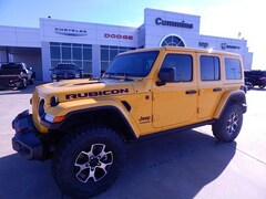 New 2020 Jeep Wrangler UNLIMITED RUBICON 4X4 Sport Utility For Sale Weatherford, Oklahoma
