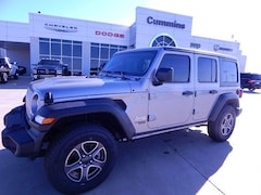 New 2020 Jeep Wrangler UNLIMITED SPORT S 4X4 Sport Utility For Sale Weatherford, Oklahoma