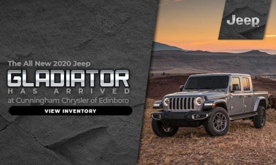 Edinboro Cunningham Chrysler of Edinboro   New & Used Jeep