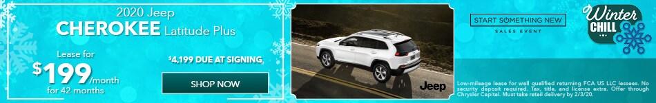 2020 Jeep Cherokee - January Offer
