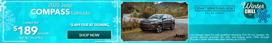 2020 Jeep Compass - January Offer