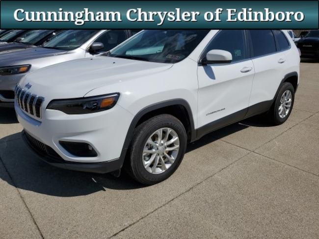 New 2019 Jeep Cherokee LATITUDE 4X4 Sport Utility For Sale in Edinboro, PA