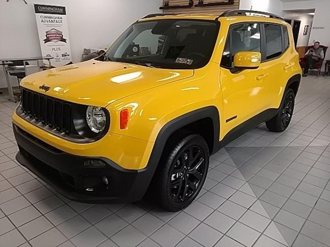 New 2018 Jeep Renegade ALTITUDE 4X4 Sport Utility For Sale in Edinboro, PA