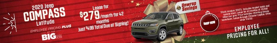 2020 Jeep Compass - December Offer