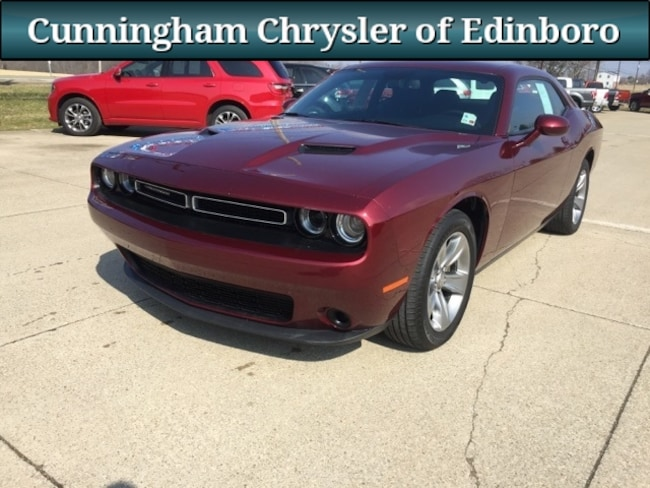 Used 2017 Dodge Challenger SXT Coupe For Sale in Edinboro, PA