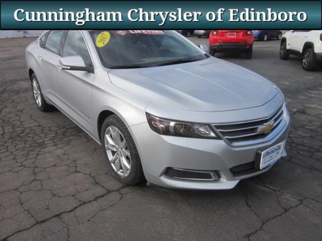 Used 2017 Chevrolet Impala LT Sedan For Sale in Edinboro, PA
