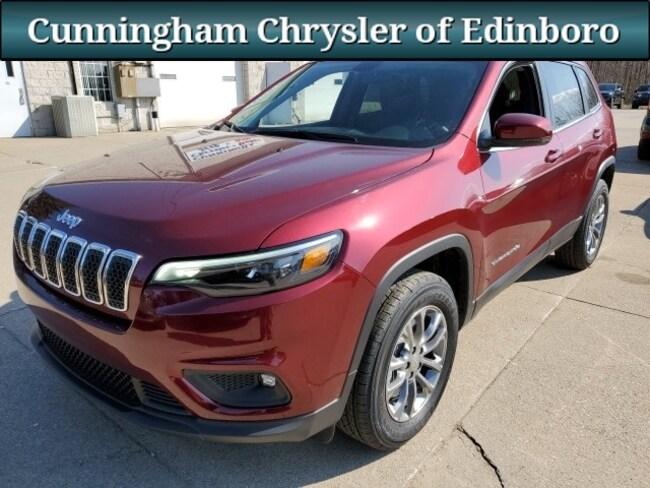 New 2019 Jeep Cherokee LATITUDE PLUS 4X4 Sport Utility For Sale in Edinboro, PA