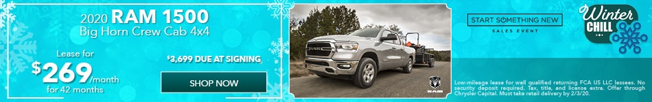 2020 RAM 1500 - January Offer