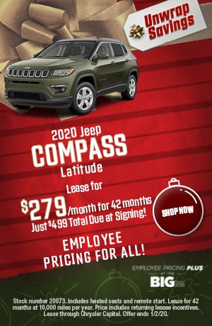2020 Jeep Compass - December Offer