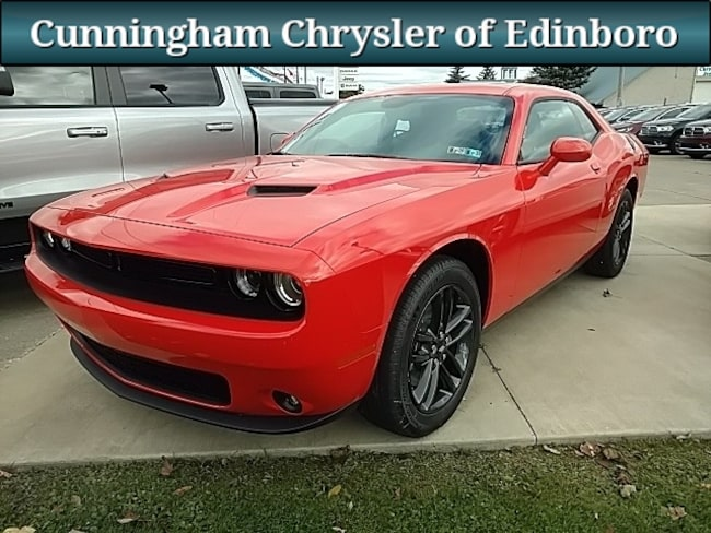 New 2019 Dodge Challenger SXT AWD Coupe For Sale in Edinboro, PA