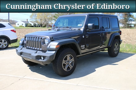 2018 Jeep Wrangler Unlimited Sport Crossover SUV