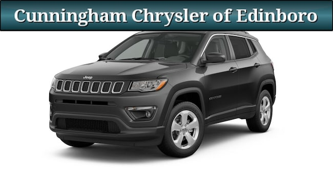 New 2019 Jeep Compass LATITUDE 4X4 Sport Utility For Sale in Edinboro, PA