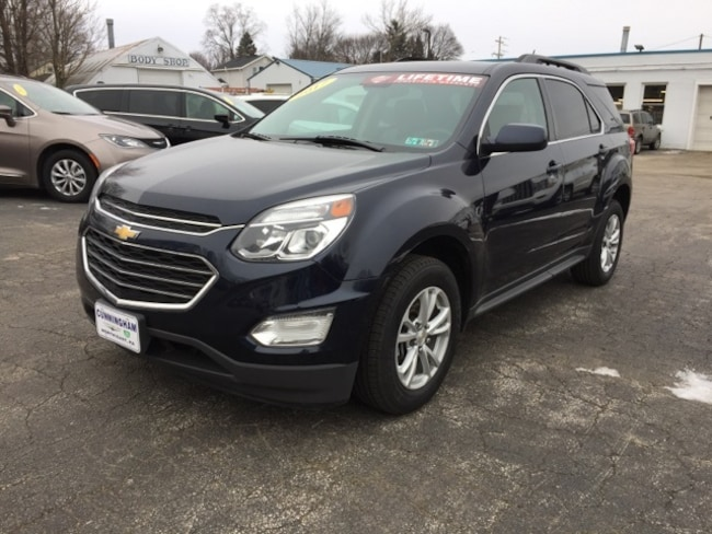 Used 2017 Chevrolet Equinox LT SUV For Sale in Edinboro, PA