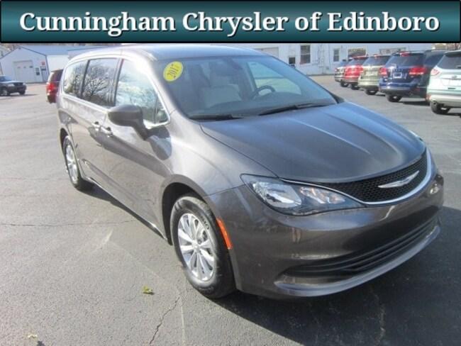 Used 2017 Chrysler Pacifica Touring Minivan/Van For Sale in Edinboro, PA