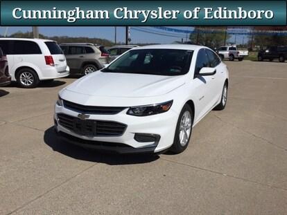 White Malibu Car >> Used 2018 Chevrolet Malibu Sedan White For Sale In Edinboro Pa Stock 7512