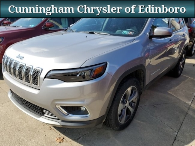 New 2019 Jeep Cherokee LIMITED 4X4 Sport Utility For Sale in Edinboro, PA