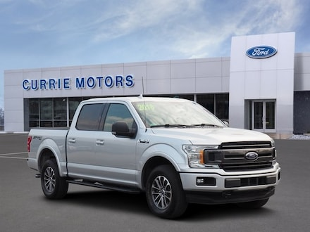 2018 Ford F-150 XLT CREW CAB SHORT BED TRUCK