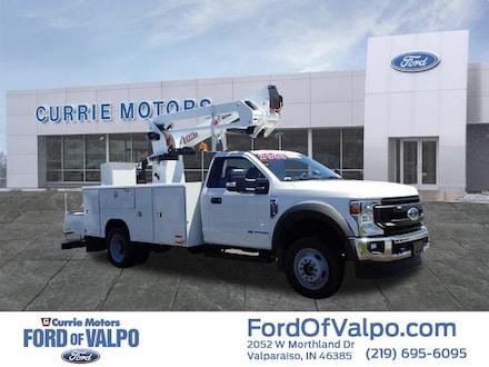 2020 Ford F-450 Super Duty XL Bucket Truck Truck Regular Cab