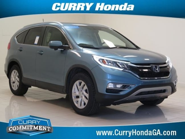 Certified Pre-Owned 2016 Honda CR-V 2WD 5dr EX-L SUV continuously variable automatic in Atlanta