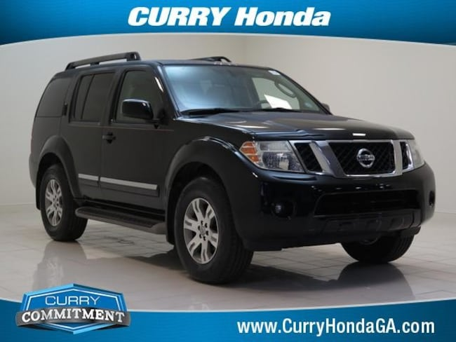 Used 2011 Nissan Pathfinder 4WD 4dr V6 Silver SUV 5 speed automatic For Sale in Chamblee, GA