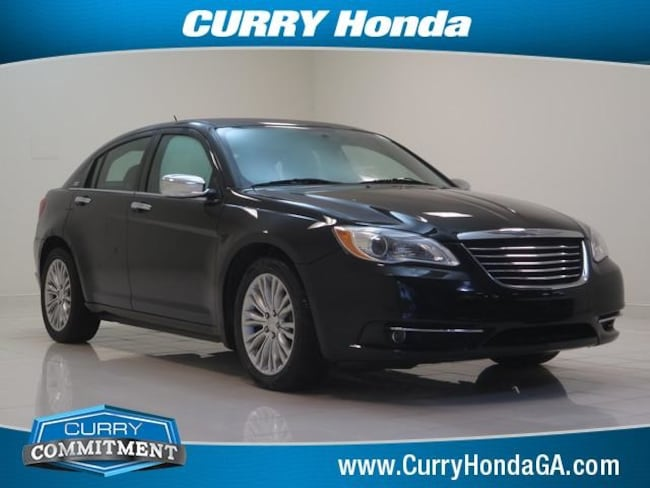 Used 2012 Chrysler 200 4dr Sdn Limited Sedan Automatic For Sale in Chamblee, GA