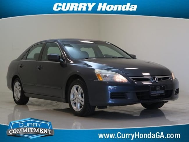 Used 2007 Honda Accord 4dr I4 AT EX-L Sedan Automatic For Sale in Chamblee, GA